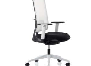 KÖHL bureaustoel ANTEO black & white