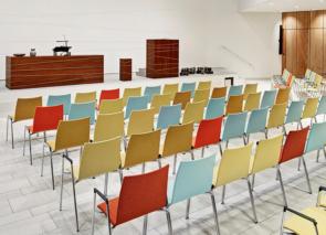 Casala Lynx II kerkstoel - zaalstoel