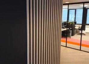 Eindresultaat kantoorverbouwing CWS